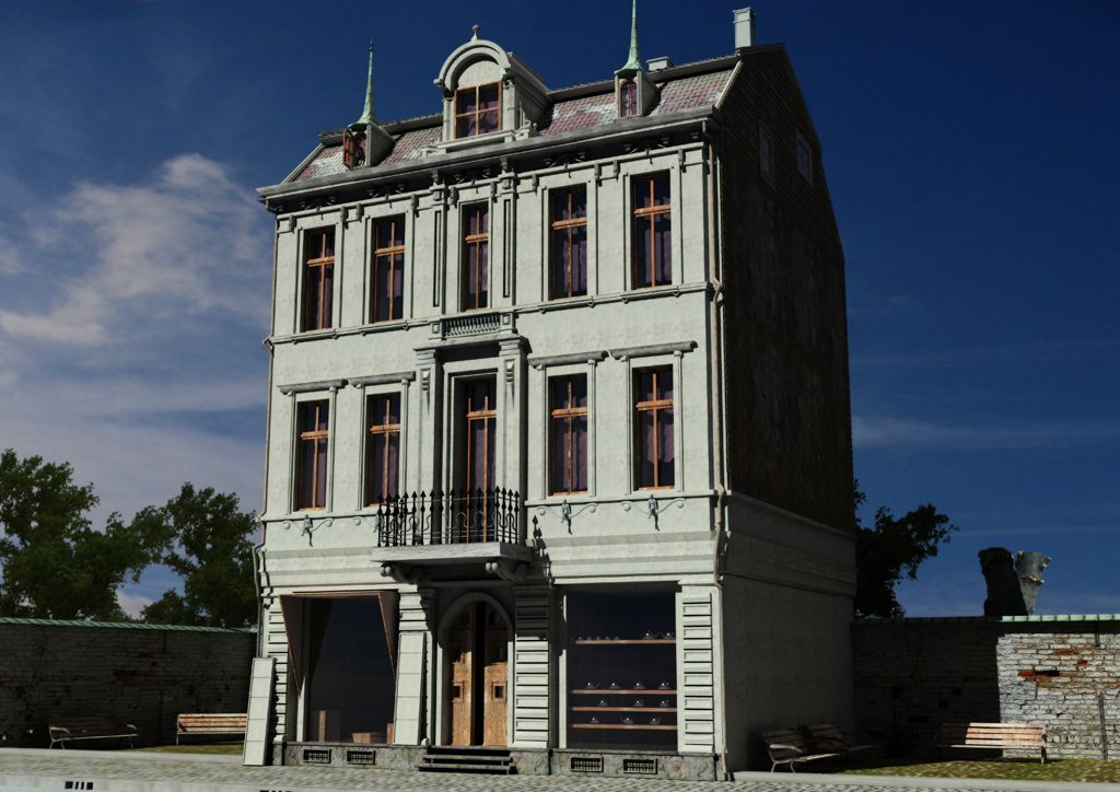 3D Haus Ehret CG1