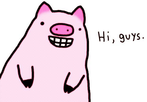 Schwein Hi