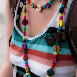 Stephie mit Halsketten