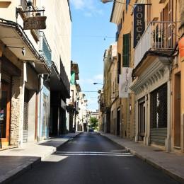 Straße in Monacor