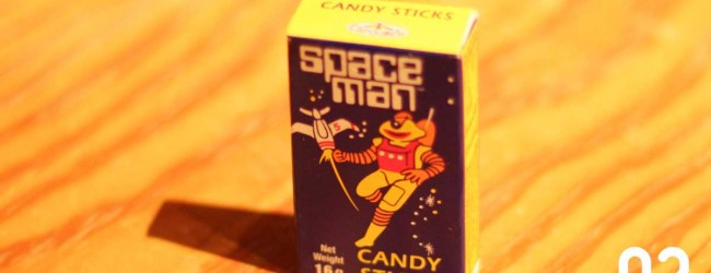 Spaceman Candysticks