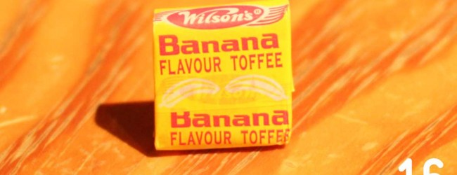 Wilson&#039;s Banana Flavour Toffee