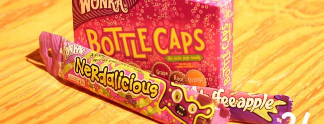 Wonka Toffeeapple / Wonka Nerdalicious / Wonka Bottle Caps
